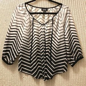 BY&BY Fancy And Flowing Blouse LIKE NEW